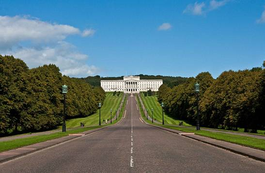 Entrance to Stormont Estate