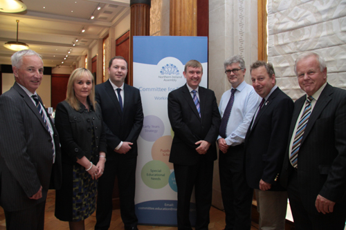 Committee for Education Members at the Committee's stakeholder event on Area Planning at Parliament Buildings on 26th September 2012.