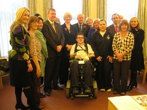 On Wednesday 9 November 2011 the Education Committee visited a number of schools in south Belfast.