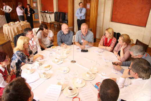 OFMdFM Committee round table discussion with Community Relations Groups