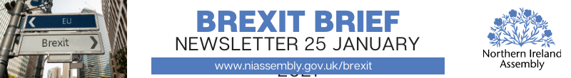 Brexit Brief Newsletter - 25 January 2021