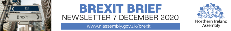 Brexit Brief Newsletter - 7 December 2020