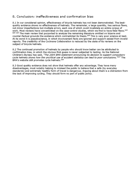 Report On The Cyclists Protective Headgear Bill Nia 910
