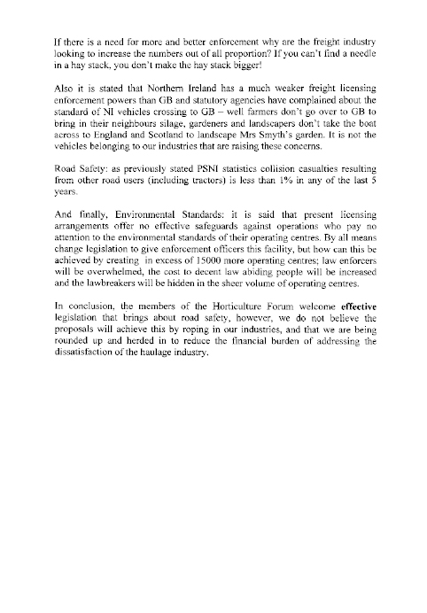 Report On Goods Vehicles Licensing Of Operators Bill