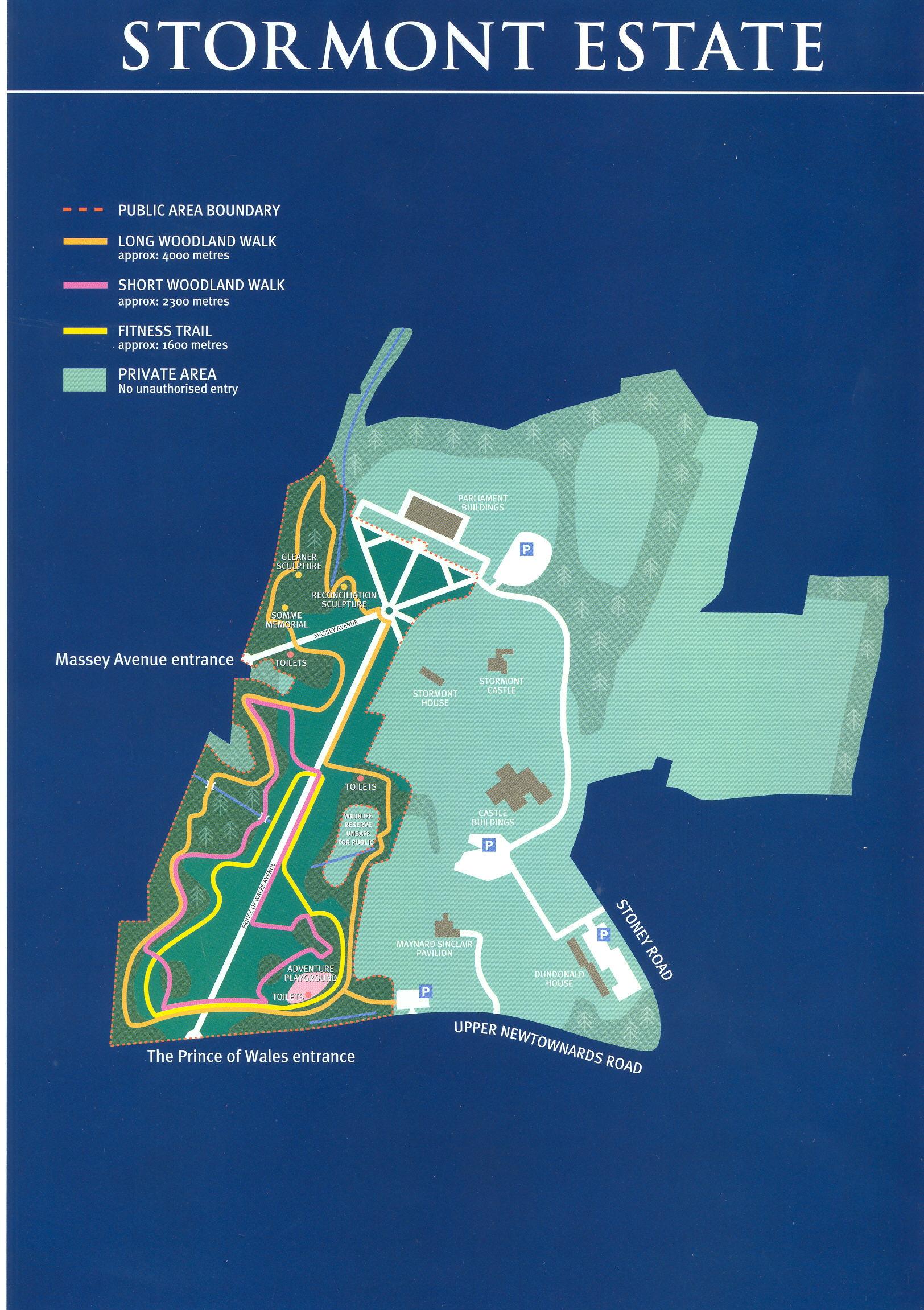 Stormont Estate Map