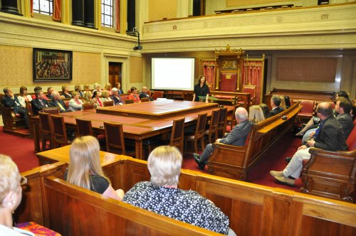 Dr Margaret Ward gave guests at the Assembly Commission's Perspectives on Female Suffrage lecture a brief history of the female suffrage movement
