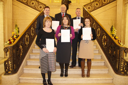 In December 2013 twelve autism champions attended accredited training run by AutismNI.