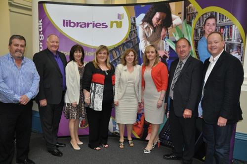 CAL Committee Members at Belfast Central Library