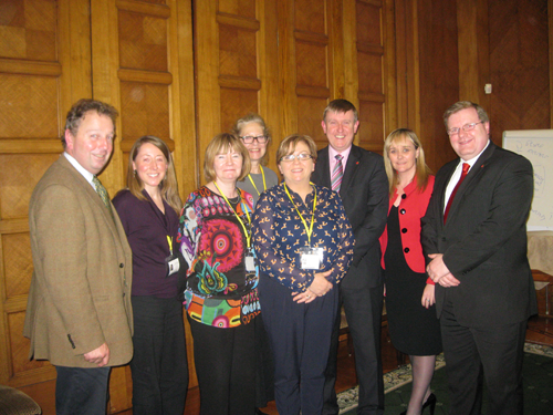 Education Committee Members with stakeholders at its underachievement event on 24/10/2012