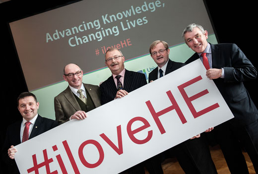CEL hosted event showcasing universities