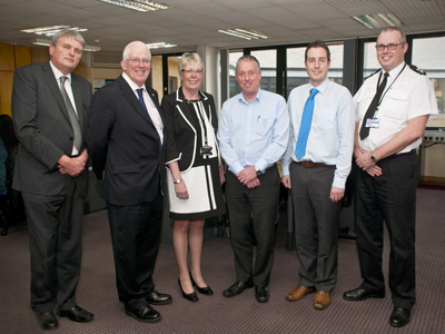 Visit to West Yorkshire Witness Care Unit in Bradford on 15 March 2012