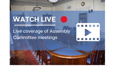 Watch today's live coverage of Assembly Committee meeting on niassembly.tv