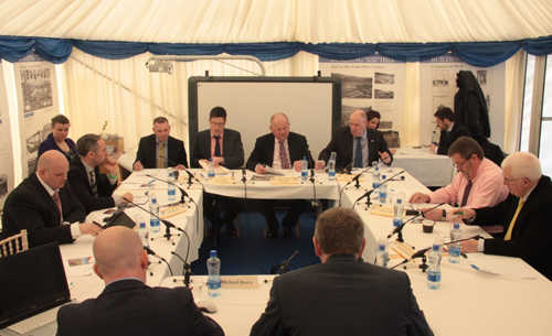 Committee for Regional Development meeting at the Balmoral Show
