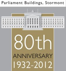 Parliament Buildings 80th Anniversary Logo