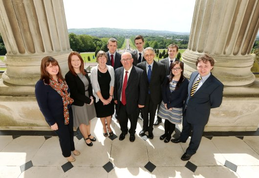 The Speaker of the Northern Ireland Assembly, Mr William Hay MLA, hosts a reception to celebrate five years of the Assembly's Bursary Programme