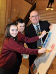 The Speaker of the NI Assembly Launches Education Service Art Competition