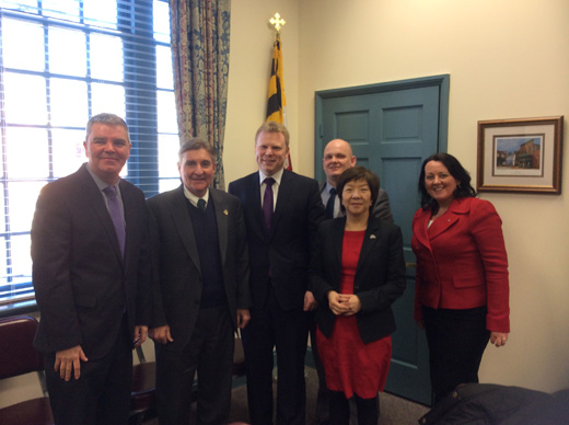 Meeting with Delegate Brian McHale, Chair of the Joint Committee on Legislative Ethics